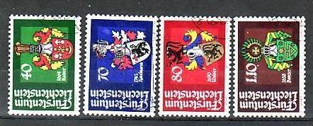 Liechtenstein Nr.766-9 o/fine used (aa4154 ) weit unter ABO Preis
