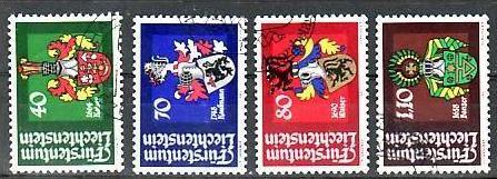 Liechtenstein Nr.766-9 o/fine used (aa4155 ) weit unter ABO Preis