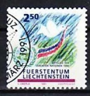 Liechtenstein Nr.1015  o/fine used (aa4177 ) weit unter ABO Preis 0