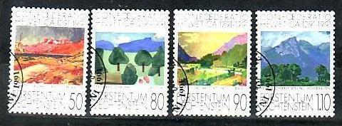 Liechtenstein Nr.1016-9  o/fine used (aa4180 ) weit unter ABO Preis