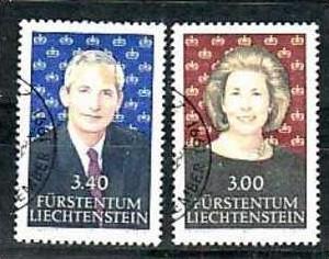 Liechtenstein Nr.1024-5  o/fine used (aa4182 ) weit unter ABO Preis