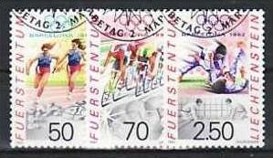 Liechtenstein Nr.1035-7 o/fine used (aa4186 ) weit unter ABO Preis