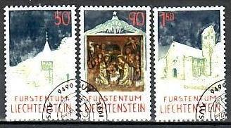 Liechtenstein Nr.1050-2  o/fine used (aa4195 ) weit unter ABO Preis