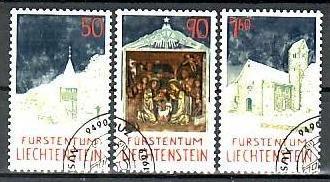 Liechtenstein Nr.1050-2  o/fine used (aa4196 ) weit unter ABO Preis