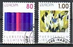 Liechtenstein Nr.1054-5  o/fine used (aa4197 ) weit unter ABO Preis