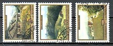 Liechtenstein Nr.1056-8  o/fine used (aa4199 ) weit unter ABO Preis 0