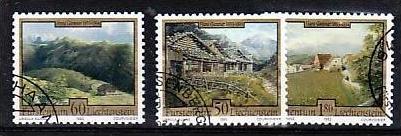 Liechtenstein Nr.1056-8  o/fine used (aa4200 ) weit unter ABO Preis
