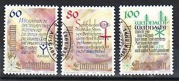 Liechtenstein Nr.1073-5   o/fine used (aa4208 ) weit unter ABO Preis