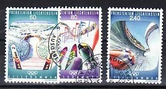 Liechtenstein Nr.1076-8   o/fine used (aa4210 ) weit unter ABO Preis