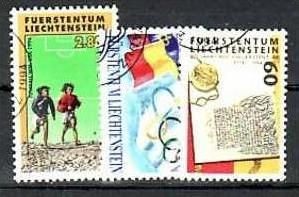 Liechtenstein Nr.1081-3  o/fine used (aa4217 ) weit unter ABO Preis