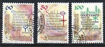 Liechtenstein Nr.1073-5  o/fine used (aa4218 ) weit unter ABO Preis
