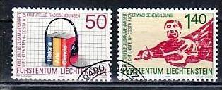 Liechtenstein Nr.945-6  o/fine used (aa4036 ) weit unter ABO Preis