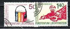 Liechtenstein Nr.945-6  o/fine used (aa4037 ) weit unter ABO Preis
