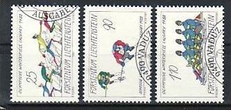 Liechtenstein Nr.934-6  o/fine used (aa4042 ) weit unter ABO Preis