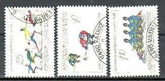 Liechtenstein Nr.934-6  o/fine used (aa4043 ) weit unter ABO Preis