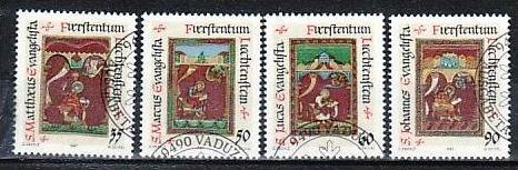 Liechtenstein Nr.930-3  o/fine used (aa4044 ) weit unter ABO Preis