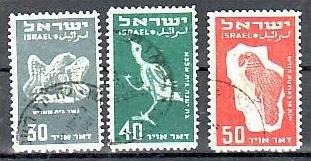Israel  Nr. 34-6  o  ( aa4594 )GUT & GÜNSTIG !! siehe scan