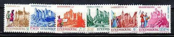 Luxemburg Nr. 814-9 ** (aa4849 ) siehe scan