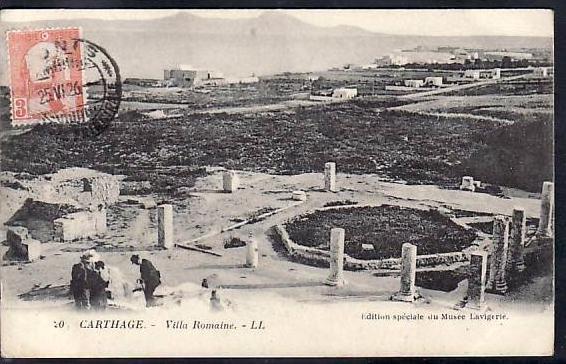Tunesien  alte Karte  ( da700 ) siehe scan