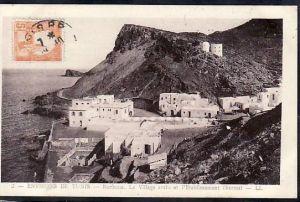 Tunesien  alte Karte  ( da699 ) siehe scan