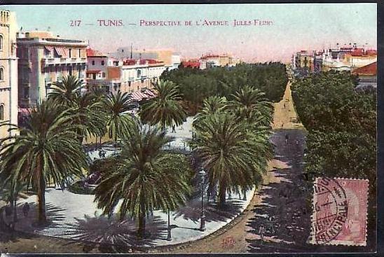 Tunesien  alte Karte  ( da692 ) siehe scan