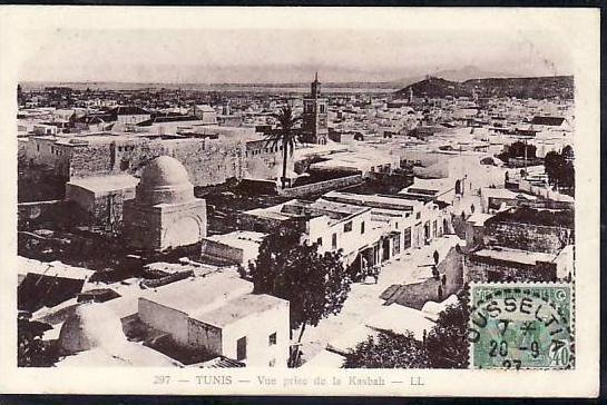 Tunesien  alte Karte  ( da689 ) siehe scan