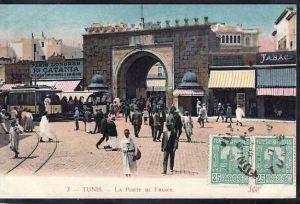 Tunesien  alte Karte  ( da683 ) siehe scan