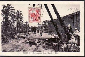 Tunesien  alte Karte  ( da678 ) siehe scan