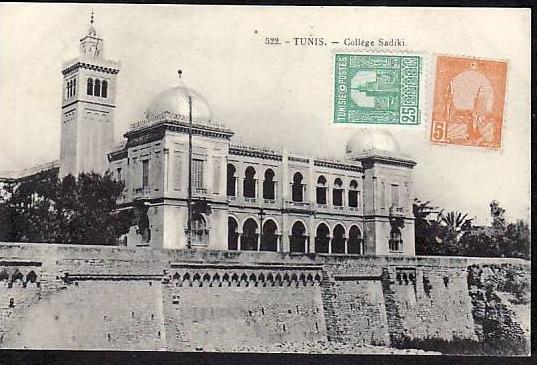 Tunesien   alte Karte  (da 844) siehe scan