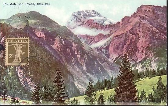 Schweiz alte Karte  (da 855) siehe scan