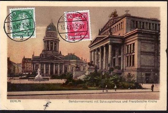 Berlin alte Karte (da821 ) siehe scan