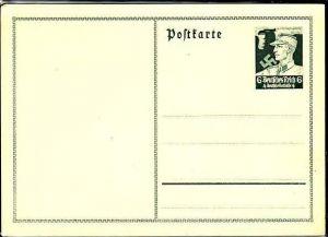 D.-Reich - Ganzsache-SA Mann (m3930 ) siehe scan
