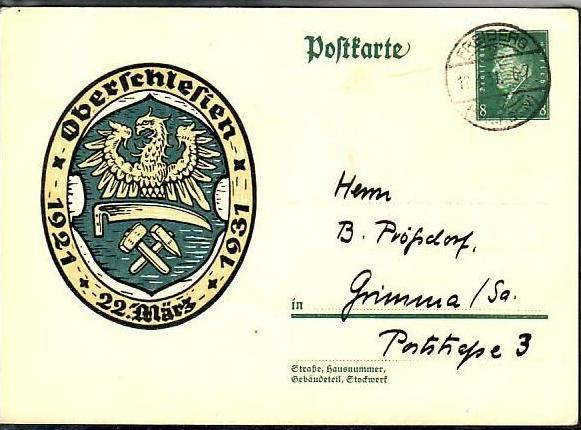 D.-Reich - Ganzsache- (m3929 ) siehe scan