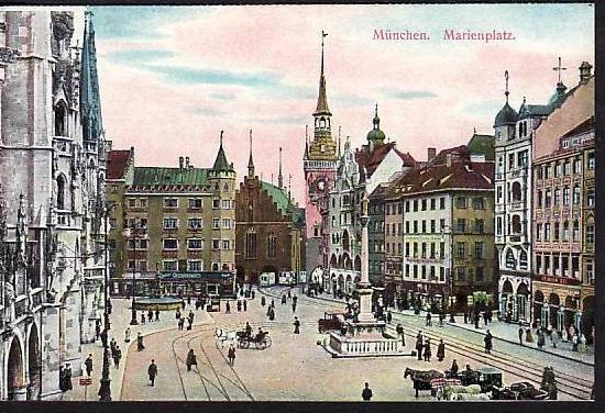alte Karte München -ungebraucht  (da865  ) siehe scan