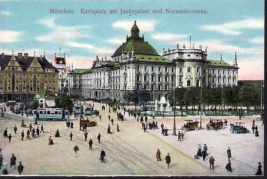 alte Karte München -ungebraucht  (da866  ) siehe scan