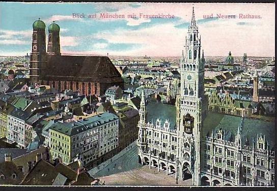 alte Karte München -ungebraucht  (da867  ) siehe scan