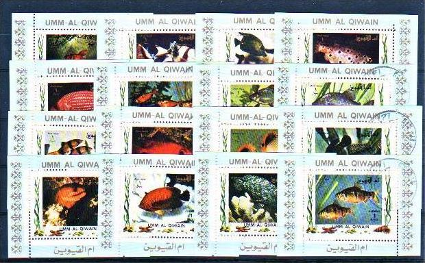 Fische  schönes Lot   ( m4150  ) siehe scan