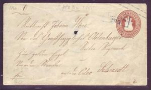 Oldenburg  U 8  Mitte kleines Loch beim Brieföffnen.. ( pp29   ) siehe scan