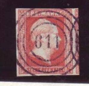 Preussen Nr. 1   Luxus -Stempel-bitte lesen (pp114 )