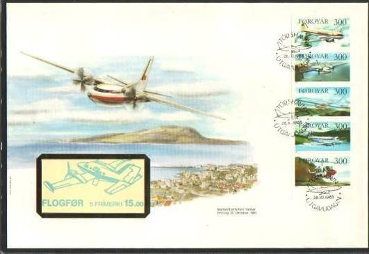 Farör  - Book of Stamp /FDC  (bg364 ) siehe scan