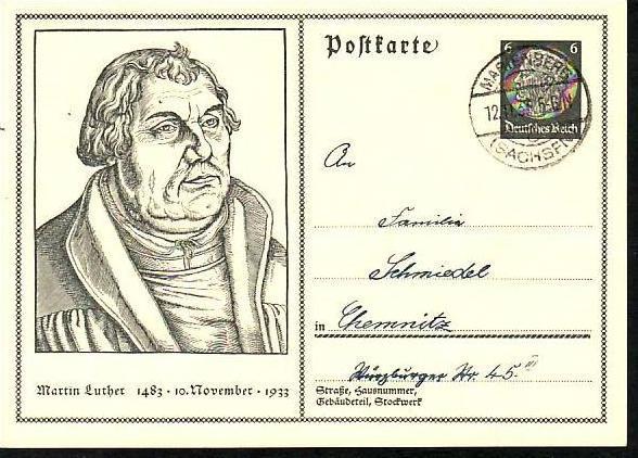 D-Reich Ganzsache  o (da1089 ) Siehe scan