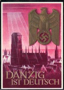 D-reich Ganzsache /Werbekarten Danzig ( da1111  )