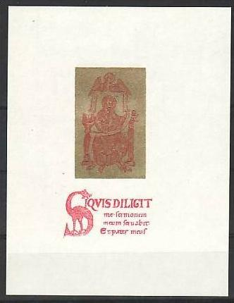 Tschechen 1707 Golddruck -Probedruck ?? ** (m 4539 ) siehe scan