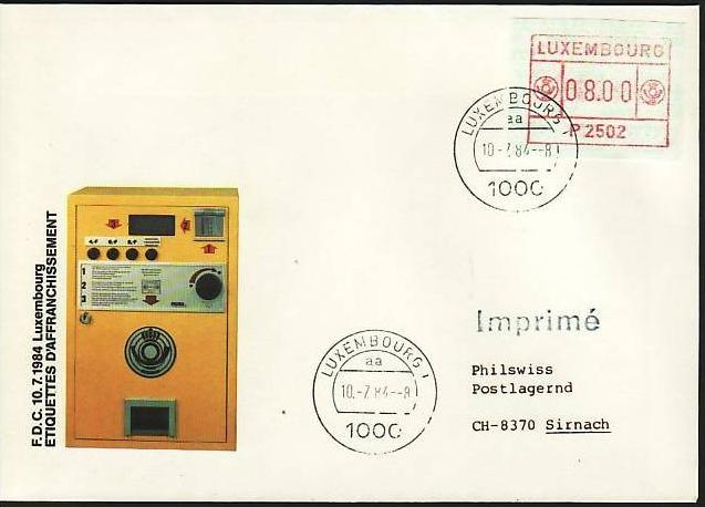Luxemburg ATM Beleg    (m4547  ) siehe scan