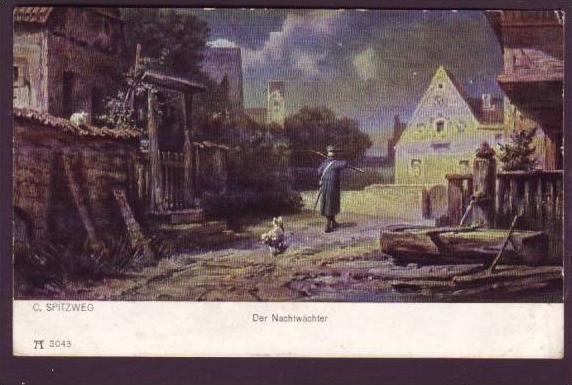 alte Postkarte Spitzweg  (da1260 ) siehe scan