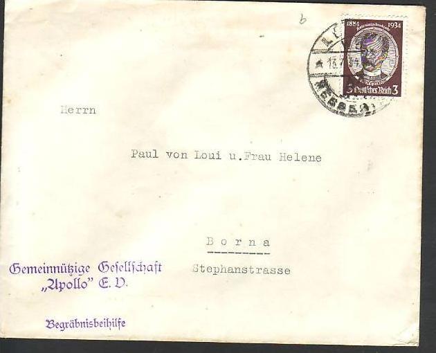 D-Reich  2 Briefe EF. 540 a+b  RRR  (m5190 ) siehe scan