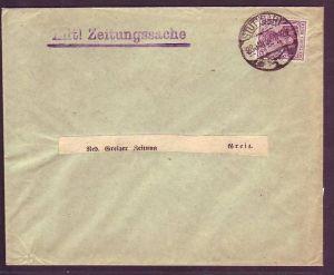 D-Reich  Brief mit  EF .146 I-Stuttgart  (m5167 ) siehe scan