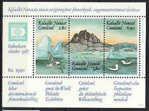 Grönland  Block  7  ** (m5500 ) siehe scan