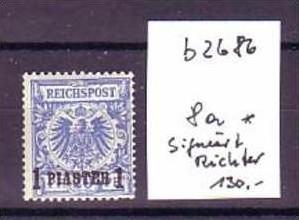 DP.in Türkei  8a * signiert  (b2686  ) siehe scan