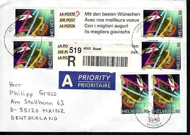 Schweiz netter Sammler Beleg   siehe scan (m5762 )